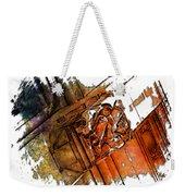 Fear Earthy Rainbow 3 Dimensional Weekender Tote Bag