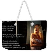Fear Of Shadows Weekender Tote Bag