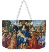 Feast Of Rose Garlands Weekender Tote Bag