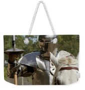 Knight With Lance Weekender Tote Bag