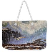 Feather And Foam Weekender Tote Bag