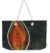Feather In The Night Weekender Tote Bag