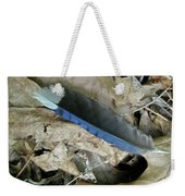 Feather On The Forest Floor Weekender Tote Bag