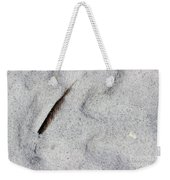 Feather, Shell And Sand Weekender Tote Bag