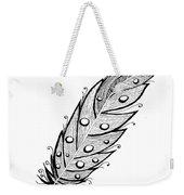 Feather1 Weekender Tote Bag