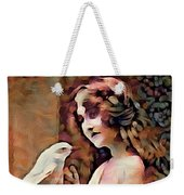 Feathered Confidant Weekender Tote Bag