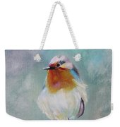 Feathered Friends First In Series Weekender Tote Bag