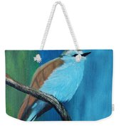 Feathered Friends Second In Series Weekender Tote Bag