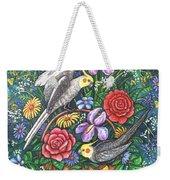 Feathered Frolic Weekender Tote Bag