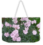 Feathered Pink Weekender Tote Bag