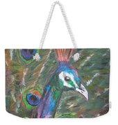 Feathered Splendor Weekender Tote Bag