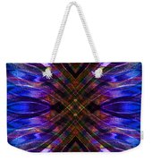 Feathered Stained Glass Weekender Tote Bag