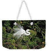 Beautiful Feathers And Foliage Weekender Tote Bag