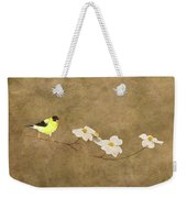 Feathers And Petals I Weekender Tote Bag
