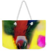 Feathers In Wine Glass Weekender Tote Bag