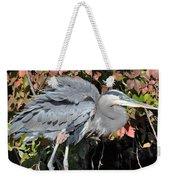 Feathers Ruffled Weekender Tote Bag