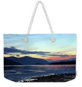 February At Dusk Weekender Tote Bag