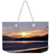 February Sunset Weekender Tote Bag