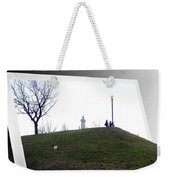 Federal Hill Dog Weekender Tote Bag