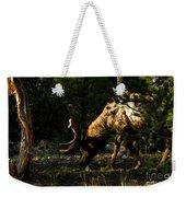 Feeding Elk Weekender Tote Bag