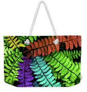 Feel The Fern Weekender Tote Bag by Jessica Manelis