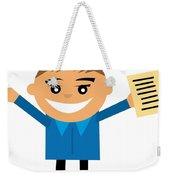 Feeling After Exams Weekender Tote Bag