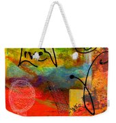 Feeling Alone And Invisible Weekender Tote Bag