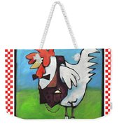 Feeling Cocky Poster Weekender Tote Bag