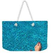 Feet Around The World #19 Weekender Tote Bag