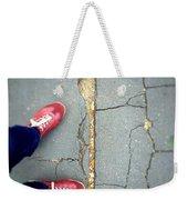 Feet Around The World #25 Weekender Tote Bag