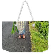 Feet Around The World #5 Weekender Tote Bag