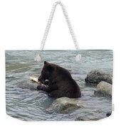 Feasting Bear Weekender Tote Bag