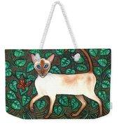Felina And The Monarch Weekender Tote Bag