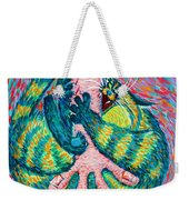 Feline Feedback Loop Weekender Tote Bag