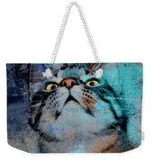 Feline Focus Weekender Tote Bag