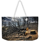 Felled After The Wildfire Weekender Tote Bag