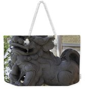 Female Chinese Guardian Lion Weekender Tote Bag