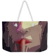 Female Expressions Xlvii Weekender Tote Bag