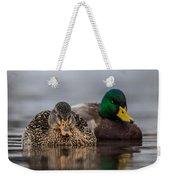 Female Mallard Weekender Tote Bag