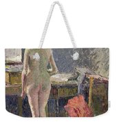 Female Nude Seen From The Back Weekender Tote Bag