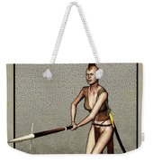 Female Pike Guard - Warrior Weekender Tote Bag