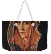 Female Portrait Weekender Tote Bag