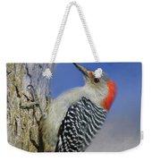 Female Red-bellied Woodpecker Weekender Tote Bag