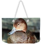 Female Redhead Duck Weekender Tote Bag