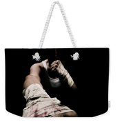 Female Toughness Weekender Tote Bag