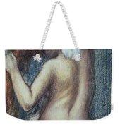 Femme A Sa Toilette Weekender Tote Bag by Edgar Degas