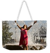 Femme Fountain Weekender Tote Bag by Al Powell Photography USA