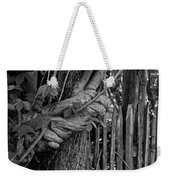 Fence In The Tropics Weekender Tote Bag