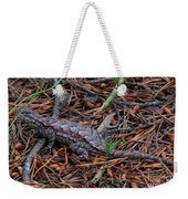 Fence Lizard Weekender Tote Bag