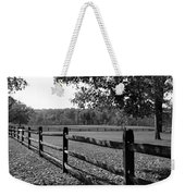 Fence Perspective Weekender Tote Bag